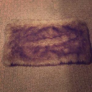Madewell faux fur scarf